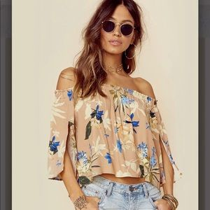 ASTR Annabella top off the shoulder top